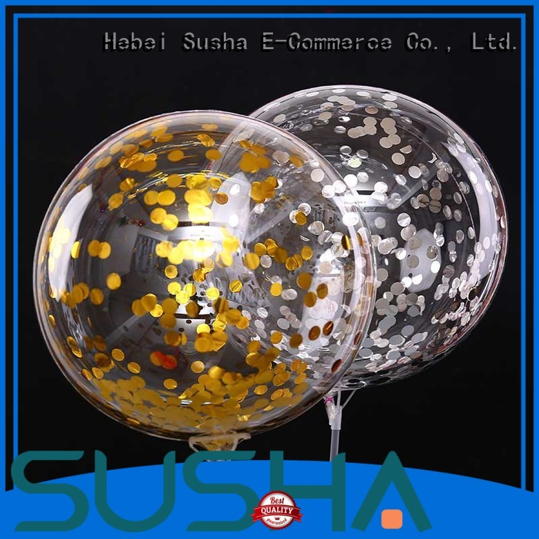Susha romantic party balloons manufacturer for celebration activities