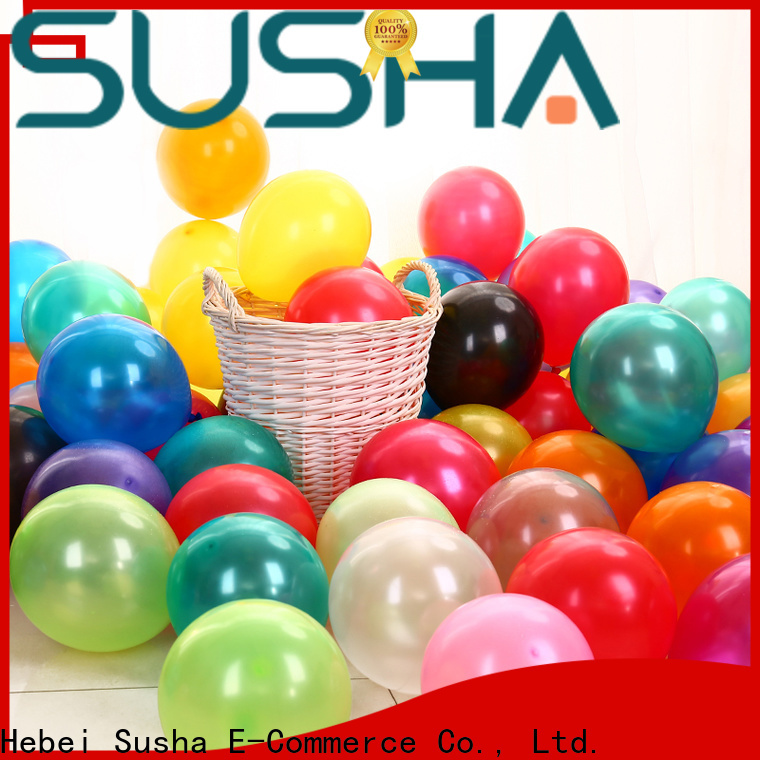 Susha heart-shaped party balloons China factory for wedding