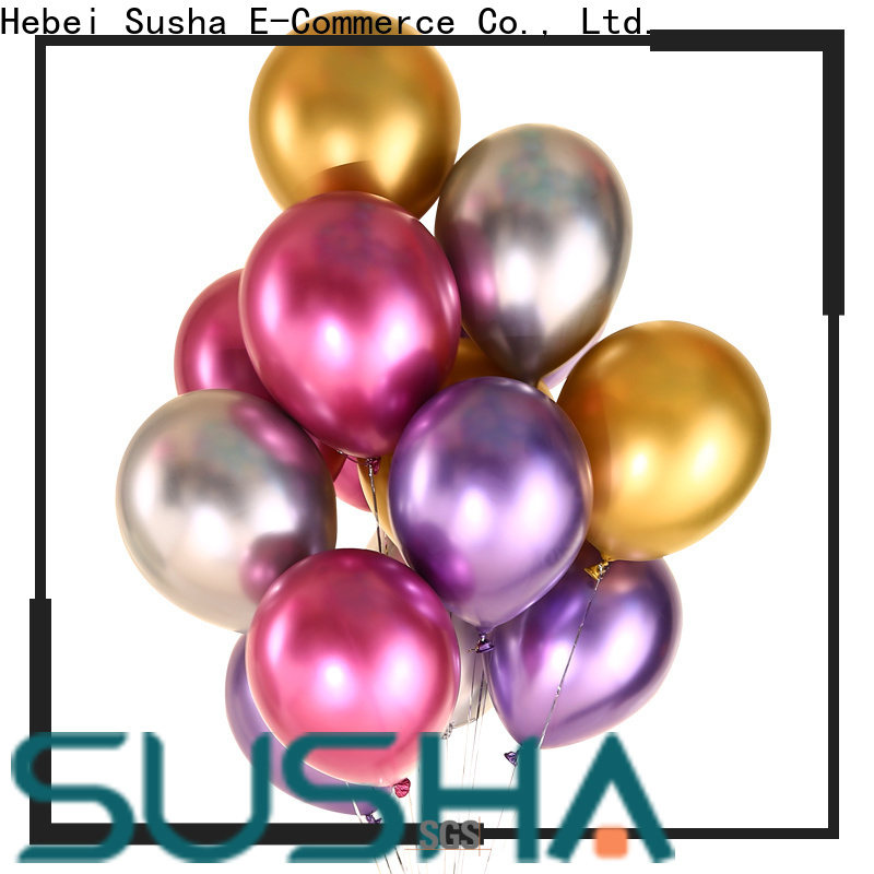 Susha peacock latex balloons China factory for celebration activities