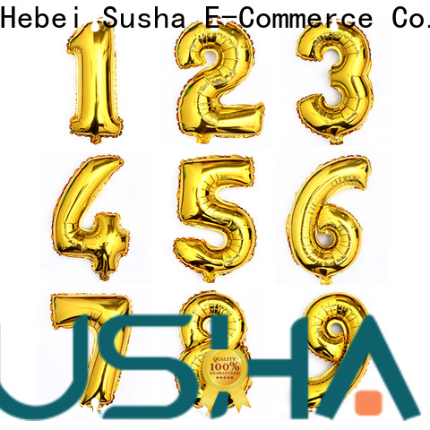 Susha foil balloons wholesale for proposal