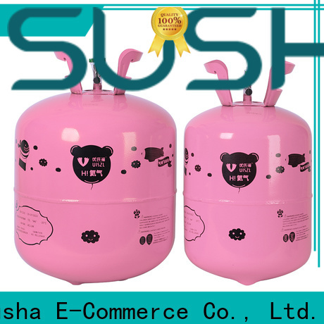 Susha wedding decoration helium canister factory price for birthday