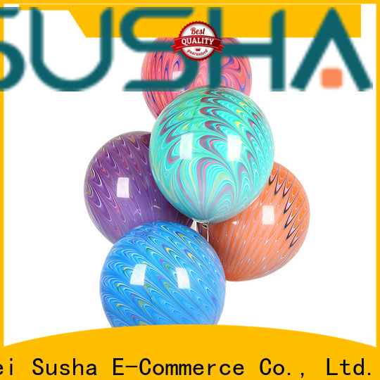 Susha confetti wedding balloons manufacturer for birthday parties