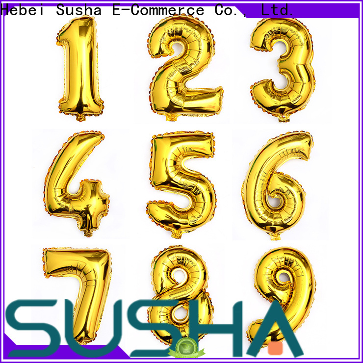 Susha foil balloons manufacturer for anniversaries