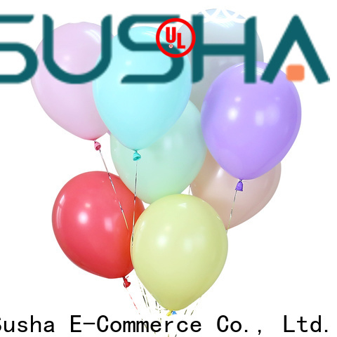 Susha latex balloons manufacturer for birthday parties