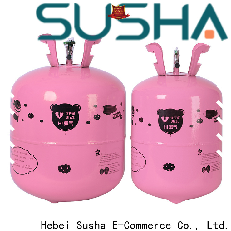 Susha accessories helium canister customization for birthday