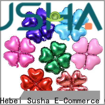 Susha foil heart balloons wholesale for wedding