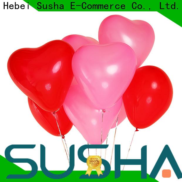 Susha romantic confetti balloons China factory for celebration activities