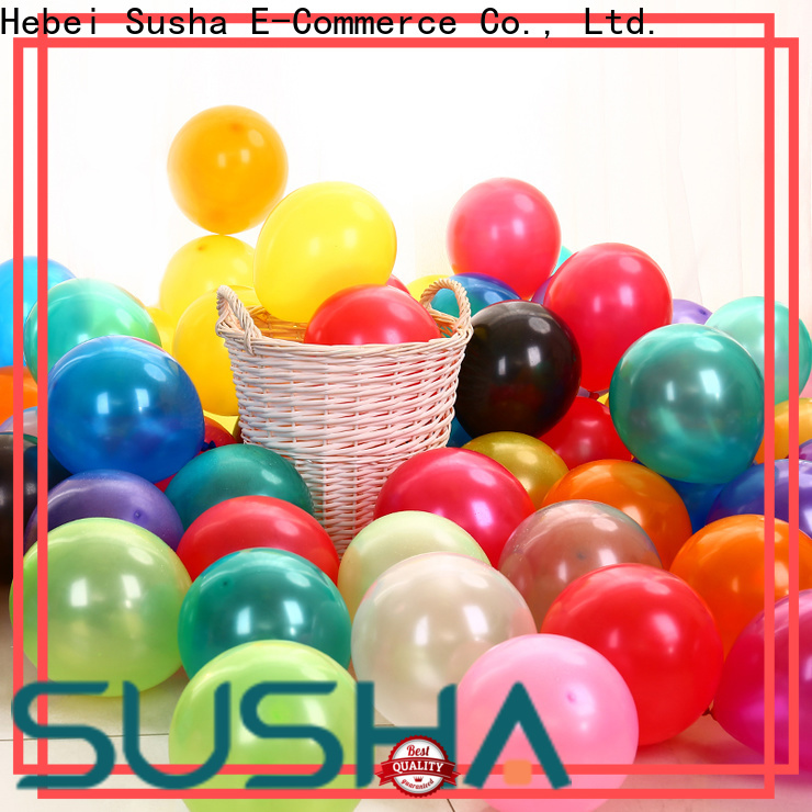 Susha confetti wedding balloons manufacturer for celebration activities