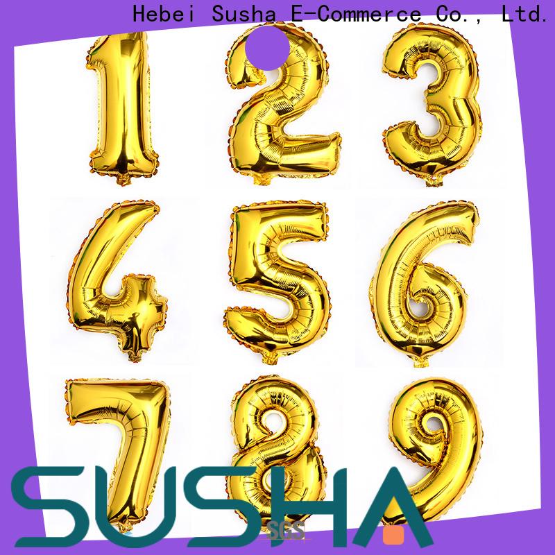 Susha foil number balloons online for birthday