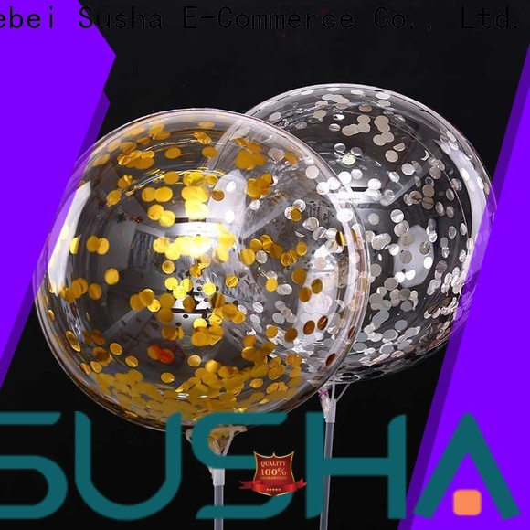 Susha 18 inches party balloons manufacturer for wedding