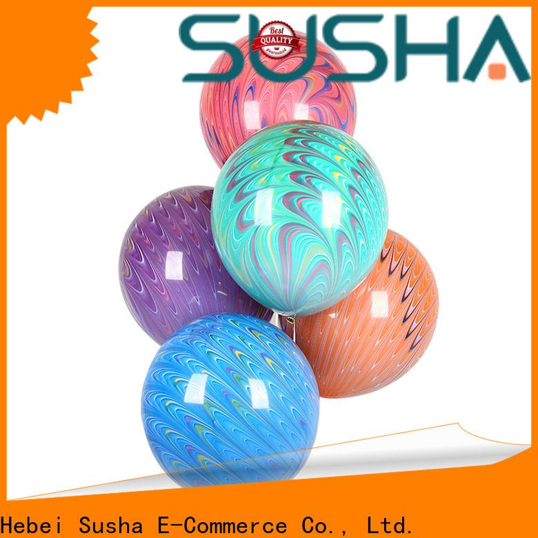 Susha confetti balloons China factory for wedding