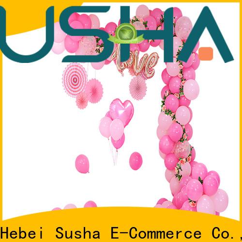 Susha electric balloon pump customization for wedding