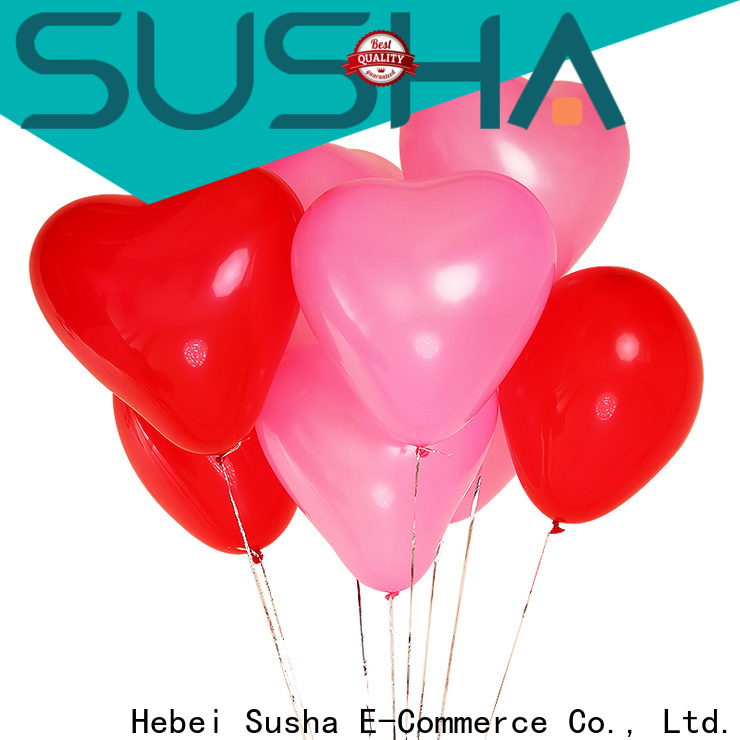 heart-shaped party balloons China factory for wedding