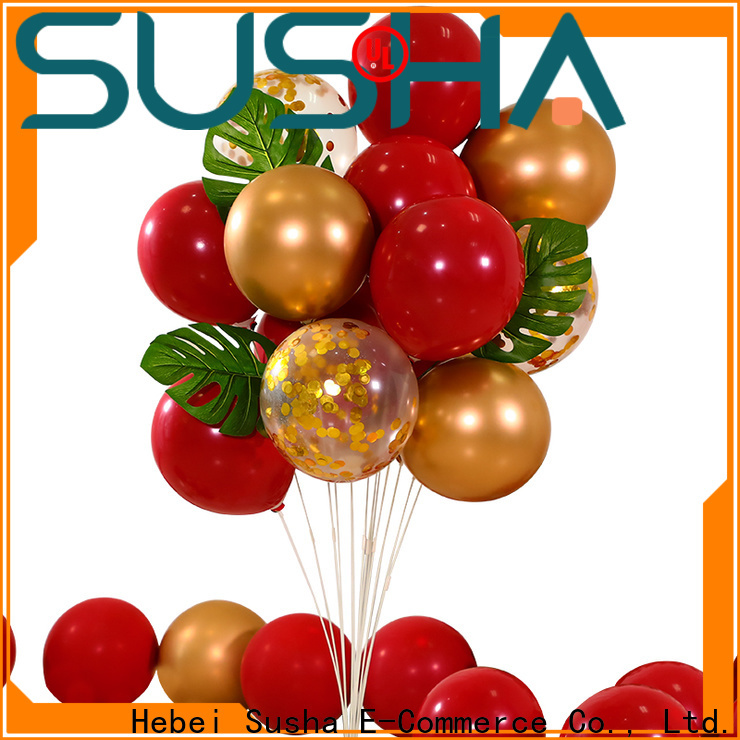 Susha wedding balloons manufacturer for birthday parties