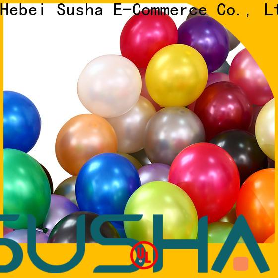 Susha confetti wedding balloons China factory for birthday parties