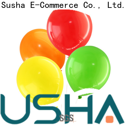 Susha transparent wedding balloons manufacturer for birthday parties