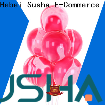 Susha confetti party balloons manufacturer for celebration activities