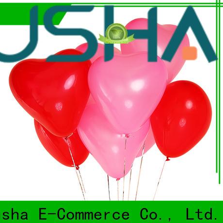 Susha confetti latex balloons China factory for celebration activities