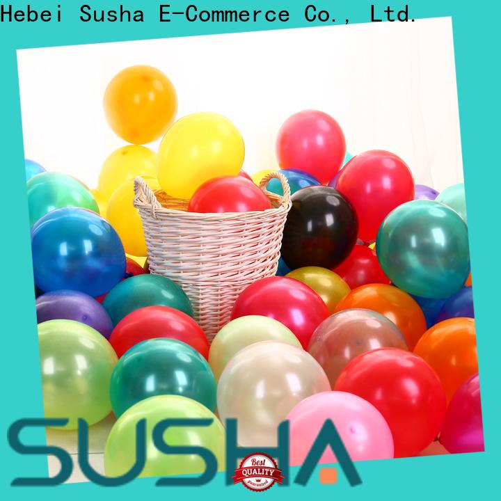 Susha wedding balloons manufacturer for celebration activities