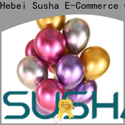 Susha transparent party balloons China factory for celebration activities