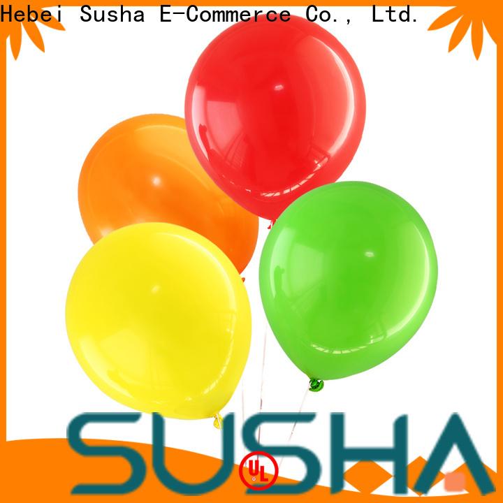 Susha romantic wedding balloons China factory for birthday parties
