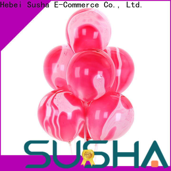Susha confetti balloons China factory for birthday parties