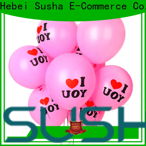 confetti wedding balloons China factory for celebration activities