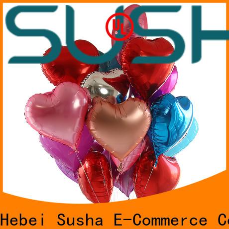 Susha foil balloons manufacturer for anniversaries