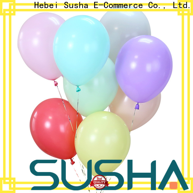 Susha heart-shaped party balloons manufacturer for wedding