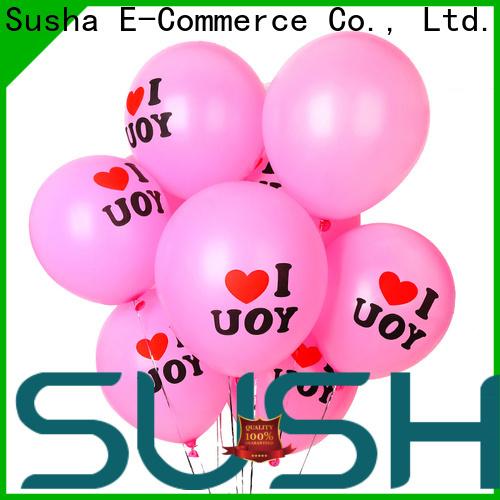 Susha wedding balloons China factory for celebration activities