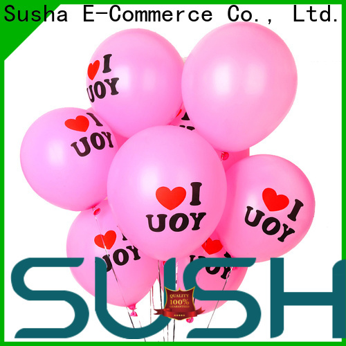 Susha wedding balloons China factory for celebration activities