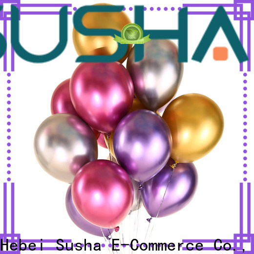 Susha peacock confetti balloons manufacturer for birthday parties