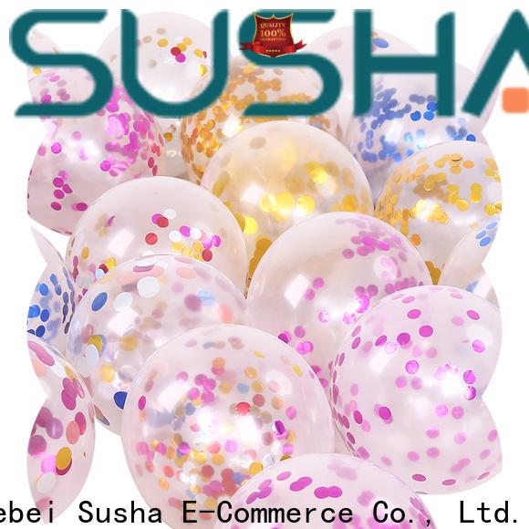 transparent latex balloons manufacturer for celebration activities