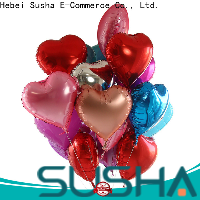 clover foil number balloons manufacturer for anniversaries