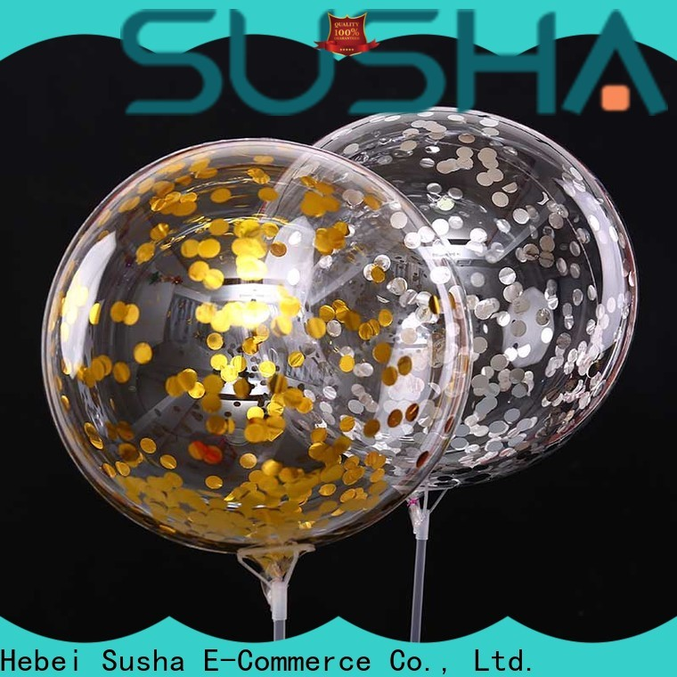 Susha 18 inches latex balloons manufacturer for birthday parties