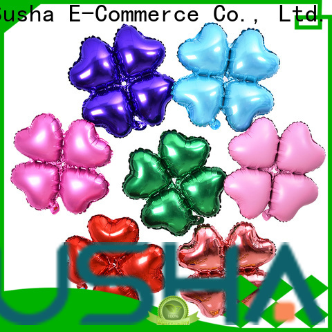 Susha number foil heart balloons wholesale for birthday