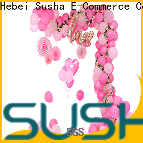 Susha electric electric balloon pump customization for birthday