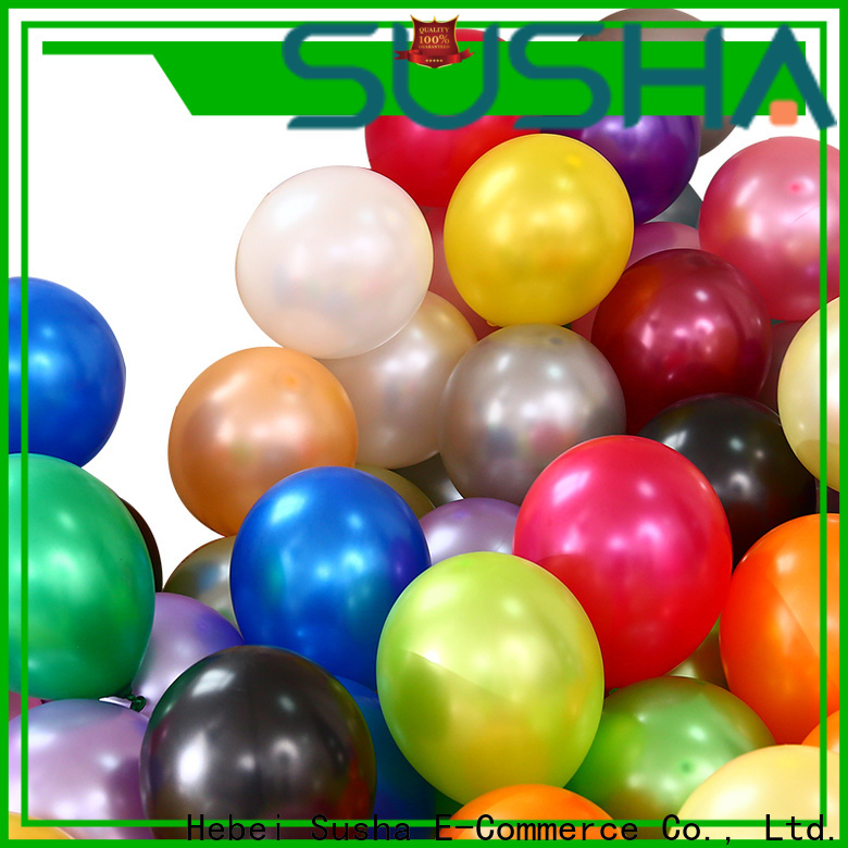 transparent latex balloons China factory for birthday parties