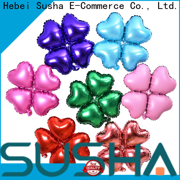 Susha foil heart balloons wholesale for proposal