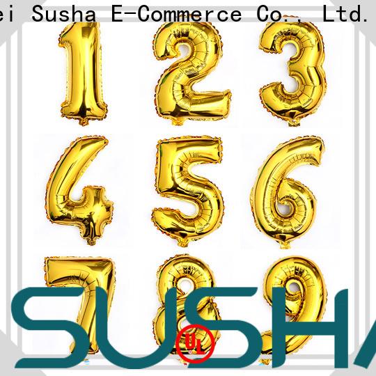 Susha aluminum foil heart balloons wholesale for anniversaries