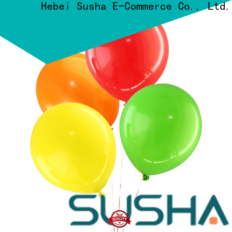 Susha transparent party balloons manufacturer for birthday parties
