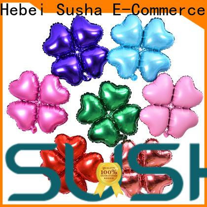 Susha foil heart balloons manufacturer for engagement