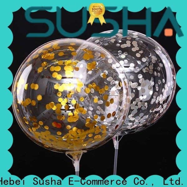 confetti latex balloons manufacturer for celebration activities