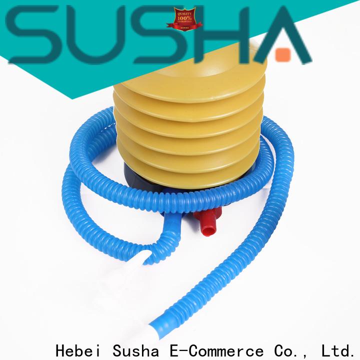 Susha hand push electric balloon pump customization for celebration activities