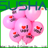 Susha latex balloons China factory for wedding
