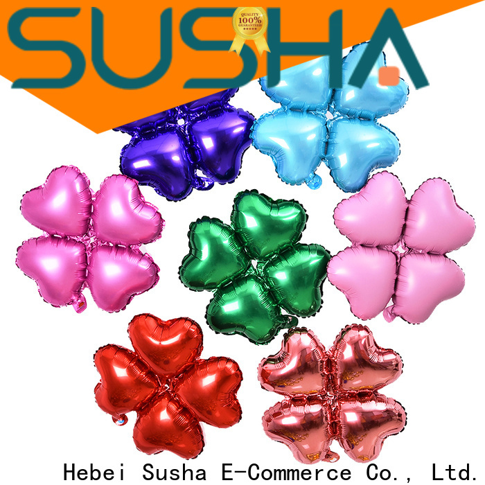 Susha dedicated foil heart balloons online for birthday