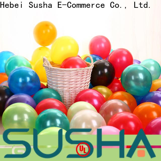 Susha peacock latex balloons China factory for birthday parties