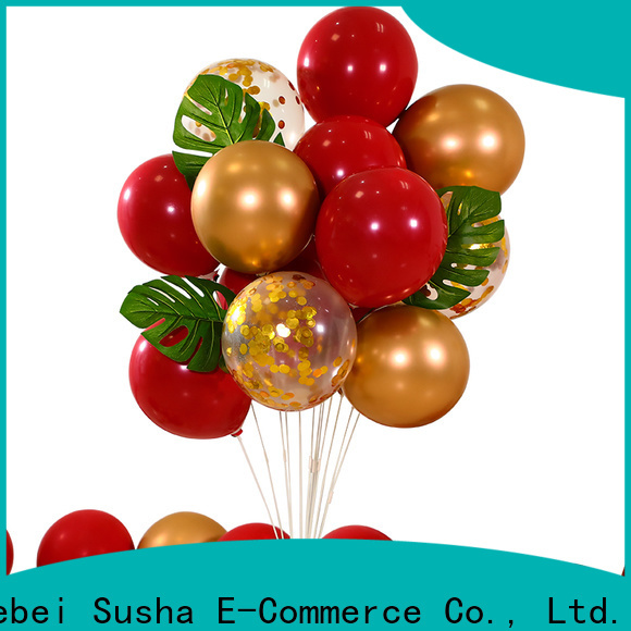 Susha romantic agate balloon for businessr for wedding