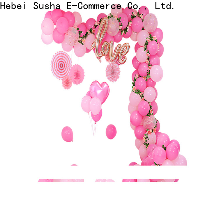 hand push balloon ribbon and weights manufacturers for celebration activities