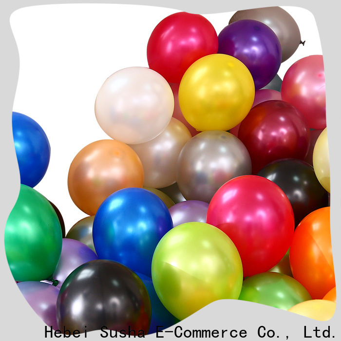 Top cream latex balloons Suppliers for birthday parties